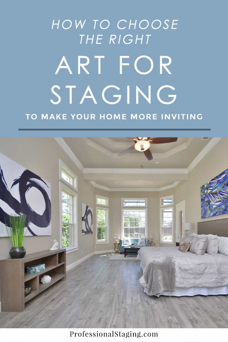how to choose the right art for home staging mhm