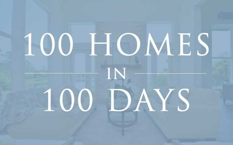 100homes100days