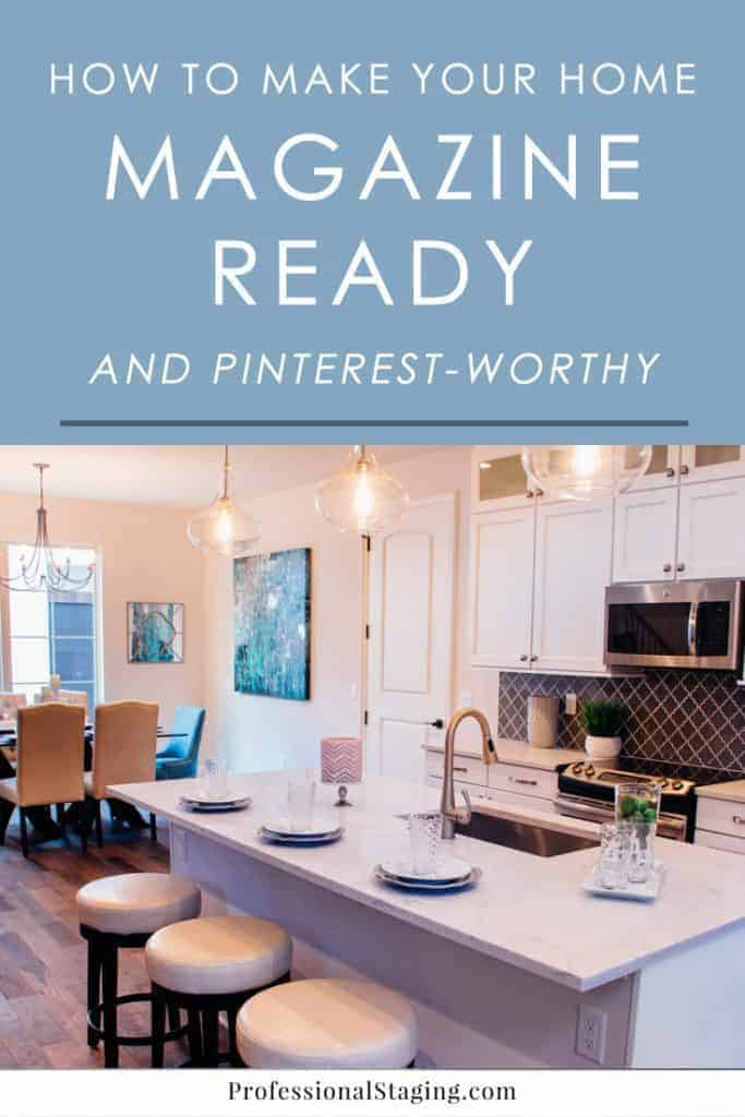 Wondering how you can make your home look more like the ones on Pinterest and in magazines? Here are some tips on how to improve your home decor.