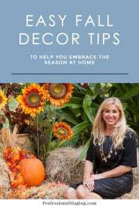 To incorporate the essence of fall into your home with your current decorating, try these easy fall decor tips!