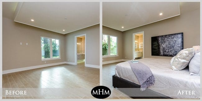 Home Staging Before  After ProfessionalStaging com and MHM Professional