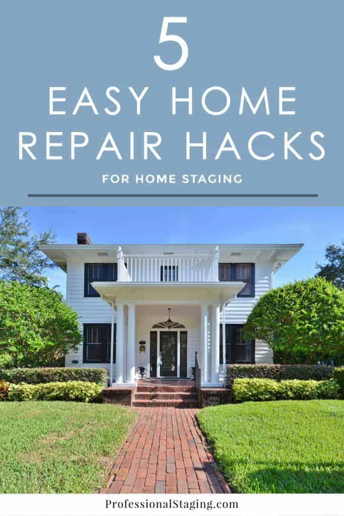 Before you put your home on the market, increase your chances of selling it faster by taking care of some necessary home repairs. Try these easy home repair hacks to get them done fast and cheap.