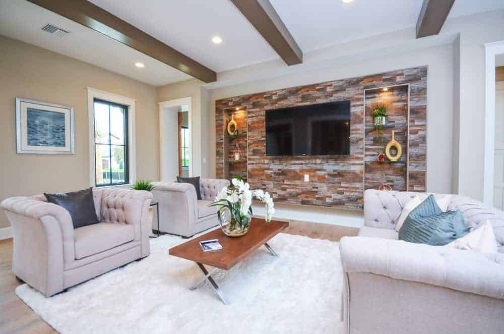 Winter home decor colors
