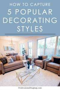 If you aren't sure how to incorporate one of your favorite styles into your home or what your style even is, get some ideas from these elements of 5 popular decorating styles.