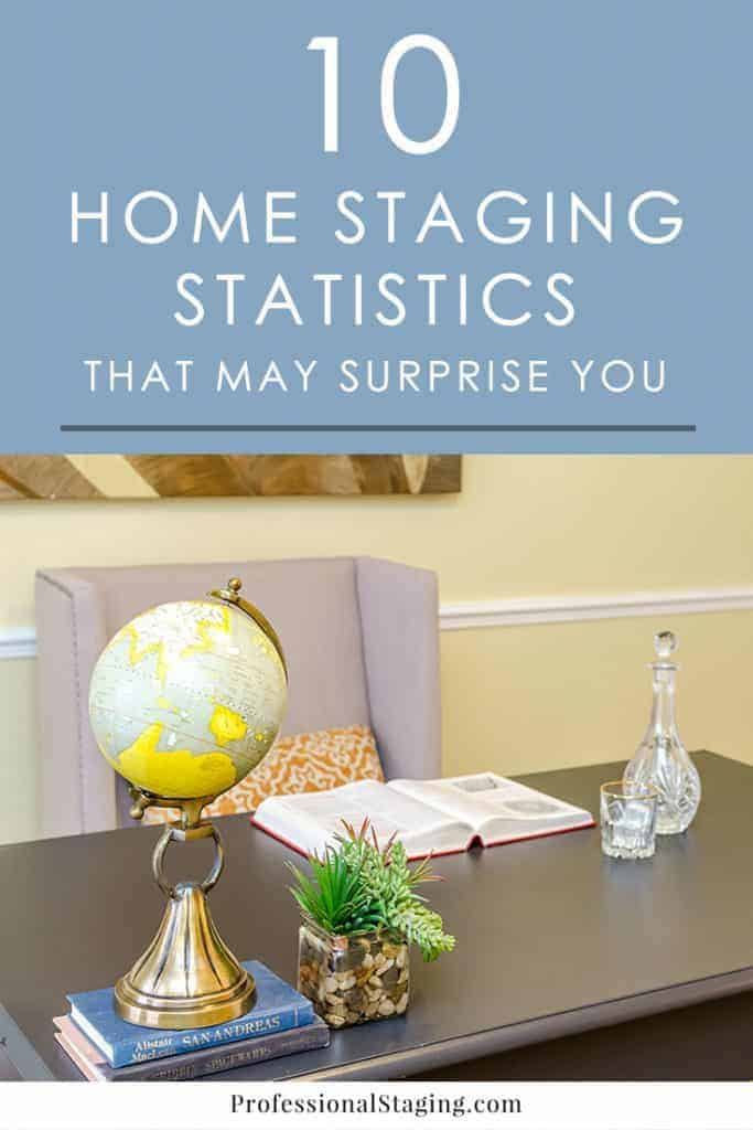 Wondering if home staging is really worth the hype and investment? Then check out the numbers! These amazing statistics from companies like the National Association of Realtors show just how effective home staging can be.