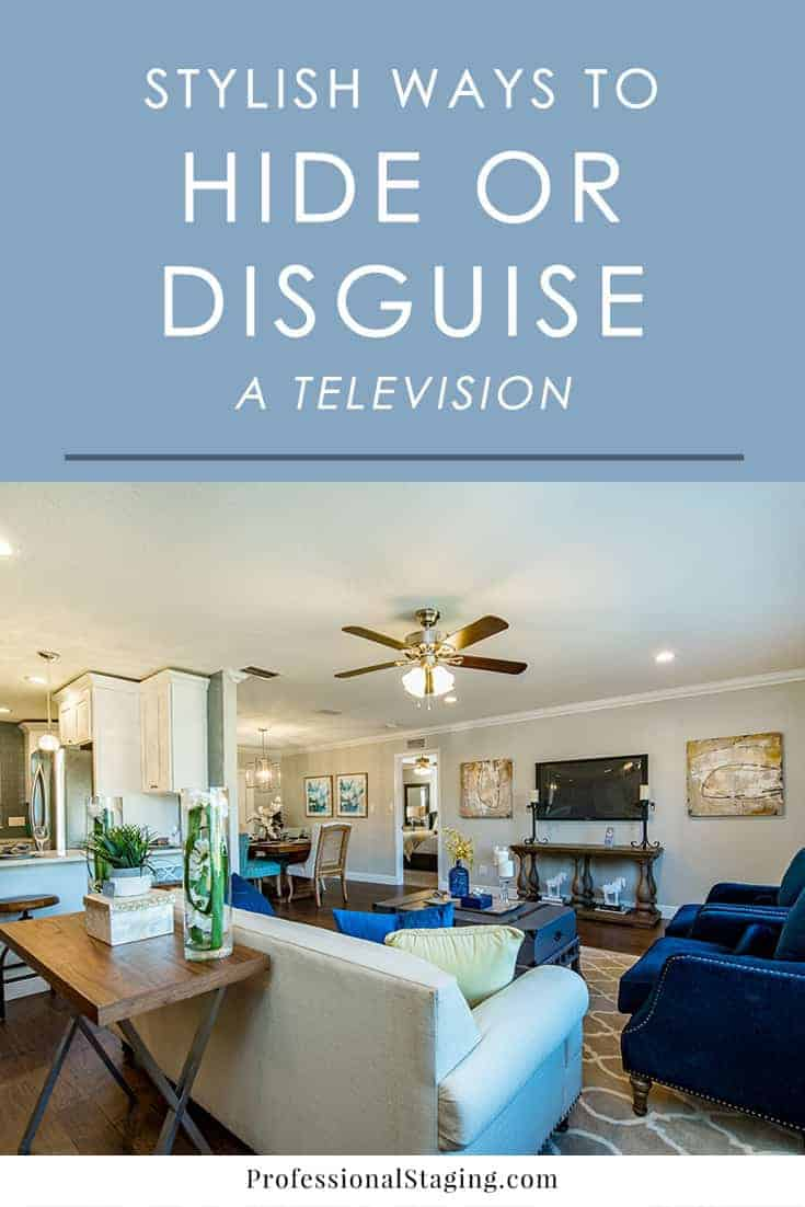 Love having a television in your home but hate the way it stands out? Try one of these stylish ways to decorate around a TV and make it look great.