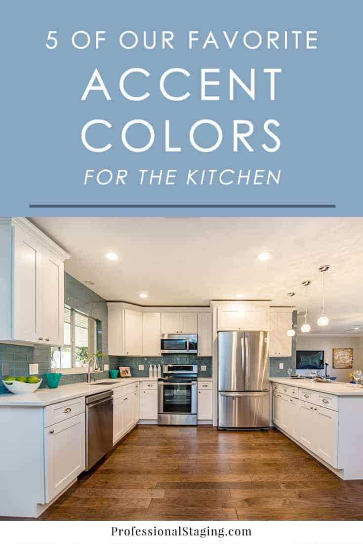 5 of our favorite accent colors for the kitchen for Kitchen accent colors