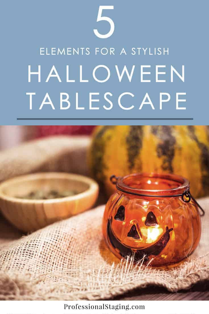Create the perfect Halloween tablescape with these five elements that you can easily mix and match for something unique and stylish every time.
