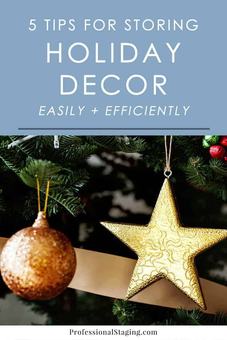 Decorating for the holidays is a lot of fun, but putting it all away isn't. Follow these tips to make your holiday storage much easier and more efficient.