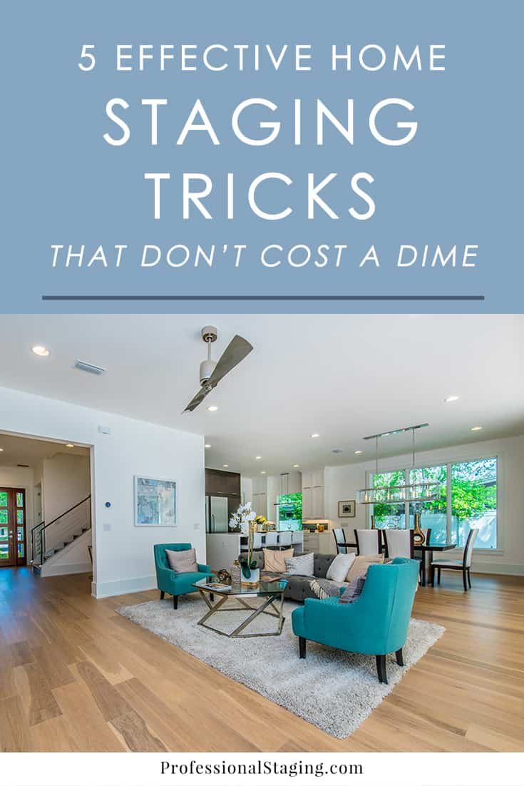 5 effective home staging tricks that don 39 t cost a dime - How to sell a house quicker five tricks that help ...