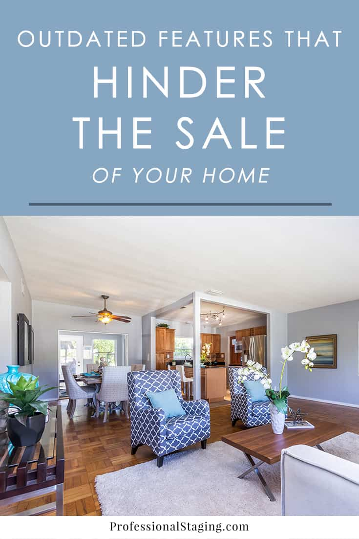 Getting ready to sell your home? Make it more attractive to buyers by getting rid of these 5 things that make your home appear outdated and unappealing to sell it faster and for top dollar.
