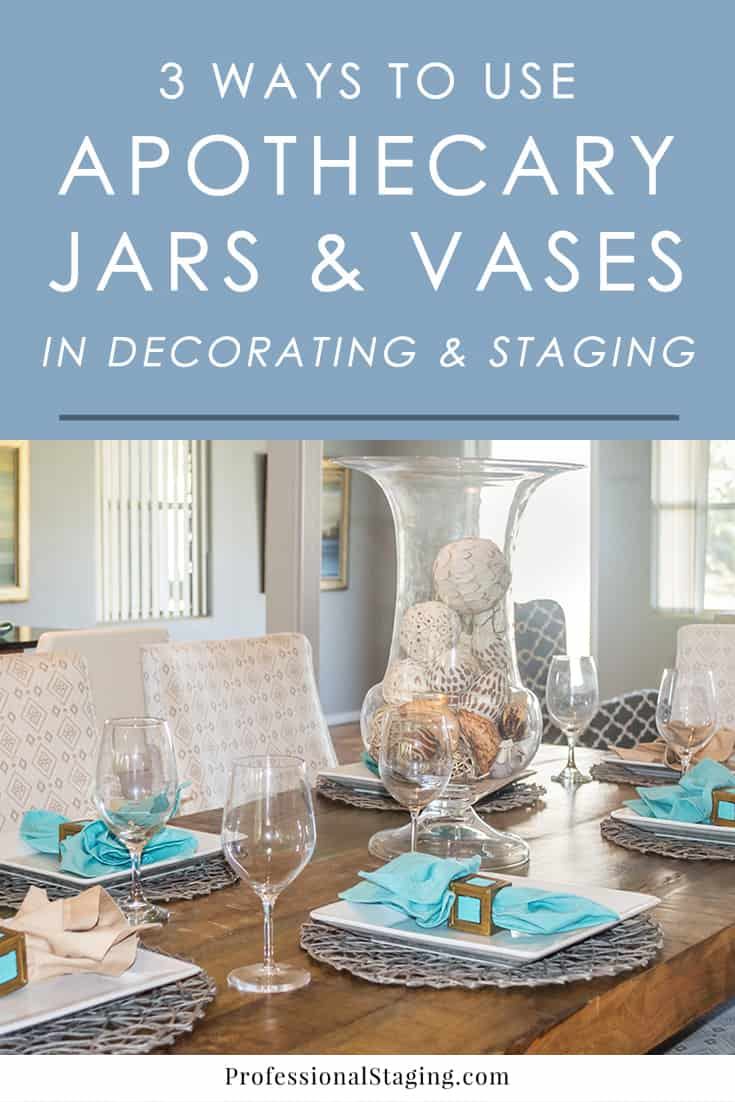 Clear vases and apothecary jars are some of the most versatile pieces of decor to have in your home. Try these 3 ways to decorate with them in any room in the home for budget-friendly style.