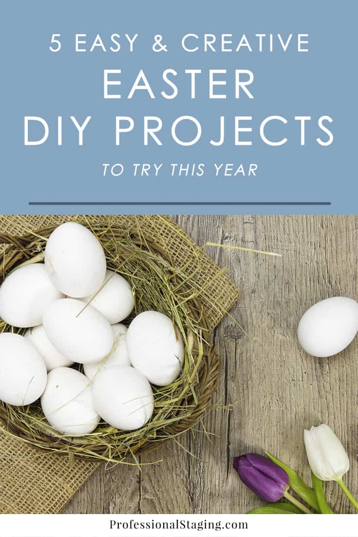 Get creative and have some fun with these easy, charming Easter DIY projects the whole family will enjoy.