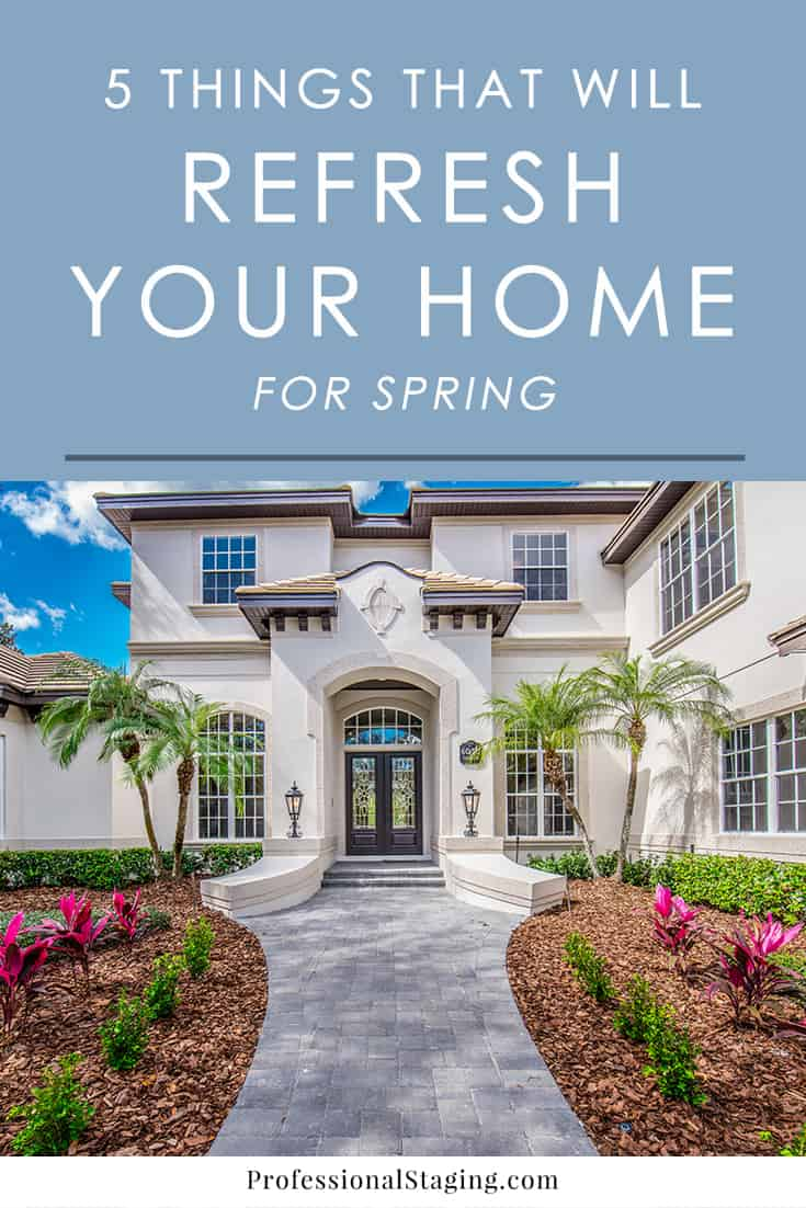 After a long, cold winter, follow these easy home maintenance tips to get your home ready for warmer weather and refresh it for spring.