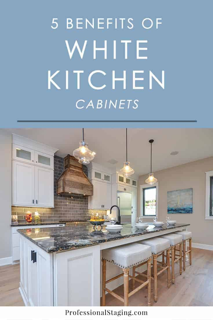 white kitchen cabinets resale value 5 reasons to paint your kitchen cabinets white 28911